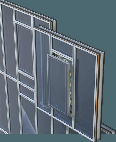 Parallel Hung Windows : Alumil m