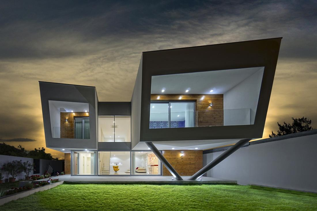 Referenze category residenze private image residenza for Architettura casa moderna