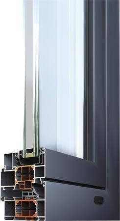 battente a taglio termico Alumil M11500
