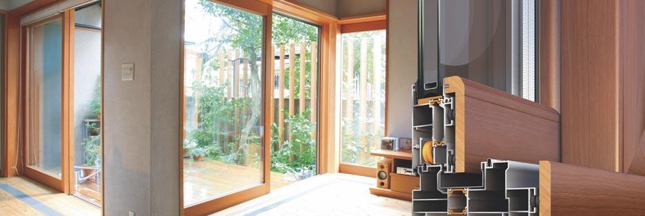 Alumil m23000 porte e finestre a taglio termico prestazioni - Costo finestre taglio termico ...