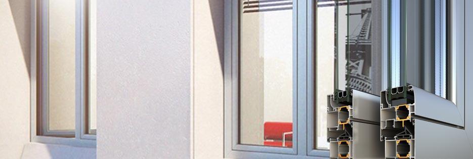 Finestre e porte battenti a taglio termico alto isolamento - Finestre isolamento termico ...