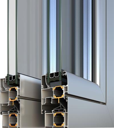 Alumil m9660 porte e finestre in alluminio a taglio termico - Finestre a taglio termico ...