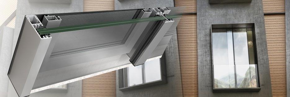 ringhiere in vetro M8250