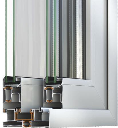 sistema alzante scorrevole Alumil S560